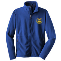 Polk, YOUTH Fleece Jacket,  Owl/Yellow