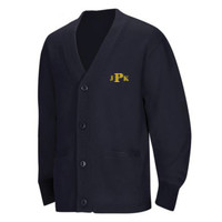 YOUTH Cardigan, Monogram/Yellow