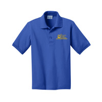 Youth Short Sleeve Polo Shirt, Banner/Yellow