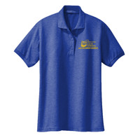 LADIES Silk Touch Short Sleeve Polo Shirt, Banner/Yellow