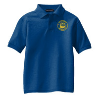 Youth Silk Touch™ Polo, OWL/Yellow
