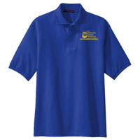Adult Silk Touch™ Short Sleeve Polo, Banner/Yellow