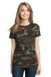 ™ Ladies Perfect Weight ® Camo Crew Tee