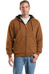 Heavyweight Full Zip Hooded Sweatshirt with Thermal Lining_R10