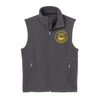 Polk, YOUTH Fleece Vest,  Owl/Yellow