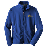 Polk, YOUTH Fleece Jacket, Banner/Yellow