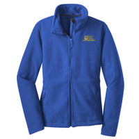 Polk, LADIES Fleece Jacket, Owl 2 Logo/Yellow