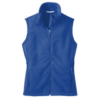 Polk,  LADIES Value Fleece Vest, Banner/Yellow