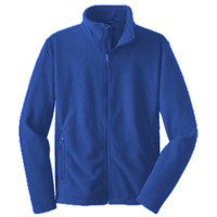 Polk,  ADULT Fleece Jacket, Banner/Yellow