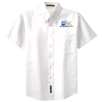 Adult Short Sleeve Easy Care Shirt, Banner/Full Color