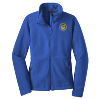 Polk, LADIES Fleece Jacket, Owl/Yellow