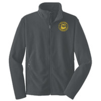 Polk, ADULT Fleece Jacket, Owl/Yellow