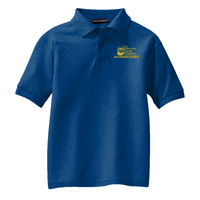 Youth Silk Touch™ Polo, Banner/Yellow