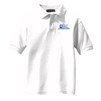 Youth Silk Touch™ Polo, Banner/Blue