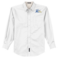 Adult Long Sleeve Easy Care Shirt, Banner/Full Color